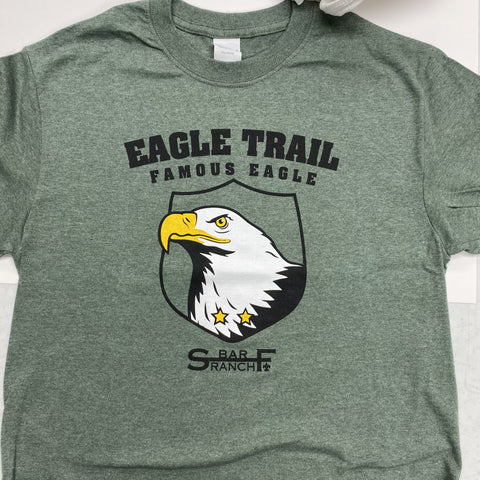 T-shirt 2019 Eagle Trail green