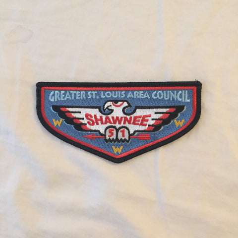 Emblem Pocket Flap - Shawnee Lodge