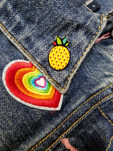 Pineapple Lapel Pins