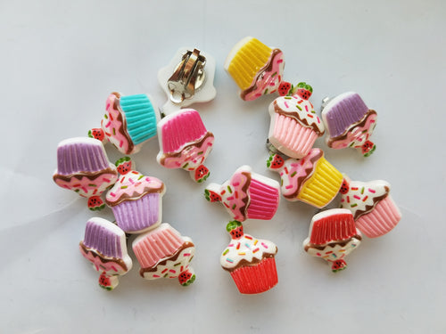 Strawberry Cupcake Earrings