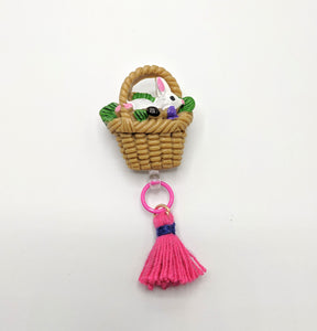 Bunny Basket Brooches