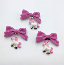 Unicorn Bow Brooch