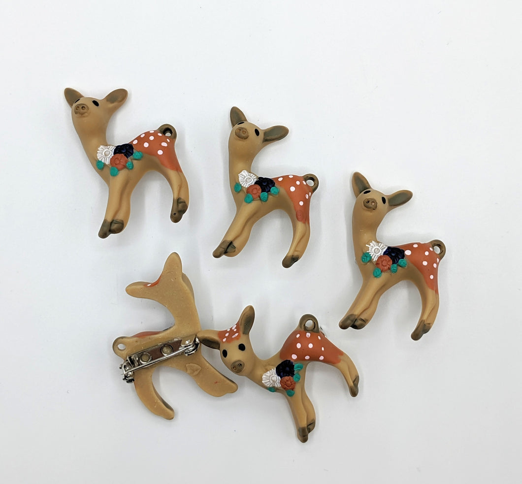 Autumn Fawn Pins