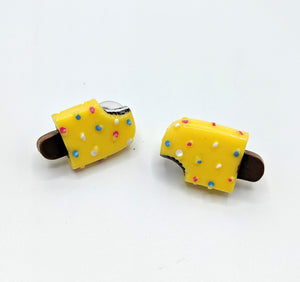 Ice Cream Clip On Earrings