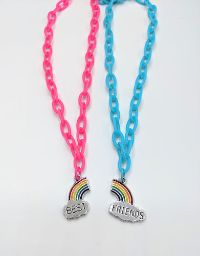 Best Friend Rainbow Necklaces