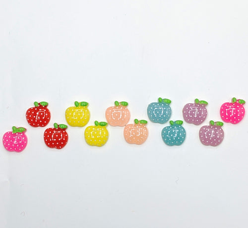 Colorful Apple Earrings