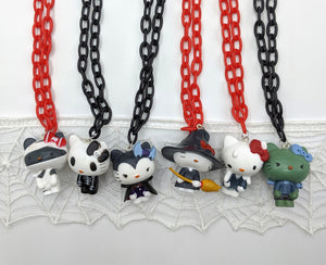Hello Kitty Halloween Necklaces