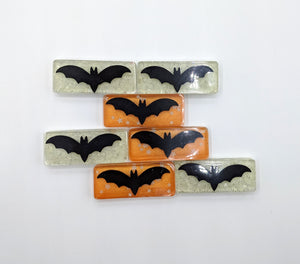 Glow in the Dark Bat Hair Clip