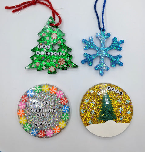 Custom Resin Ornaments