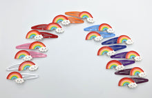 Rainbow Snap Clips