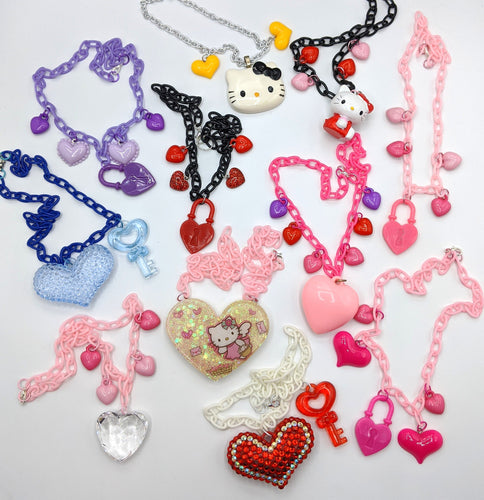 Valentine's Charm Necklaces