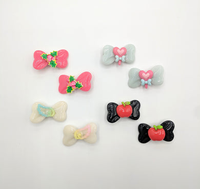 Mini Piggie Hair Clips