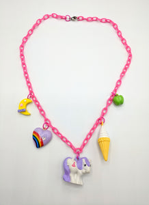 VTG MLP Chain Charm Necklaces