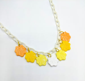 Vintage Leaf Charm Necklaces