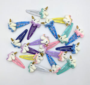 Unicorn Snap Clips