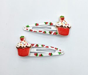Strawberry Hair Clips