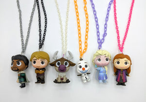 Frozen 1 and 2 Necklaces