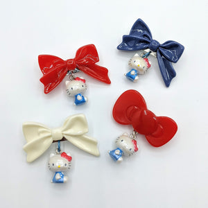 Hello Kitty Bow Brooches