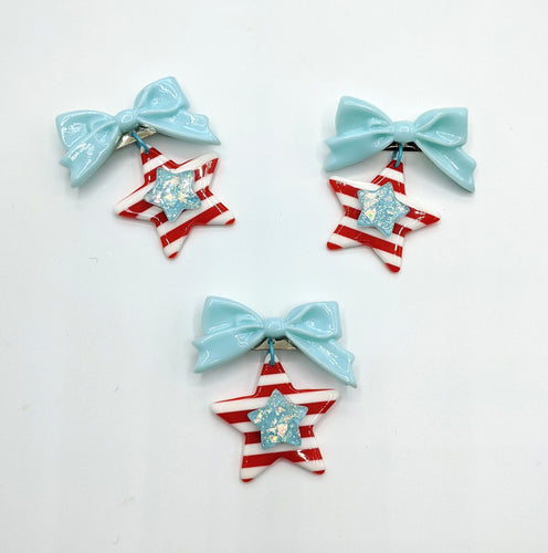 Stars and Stripes Brooches