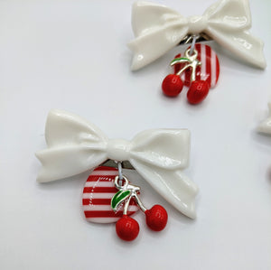 Very Cherry Brooches