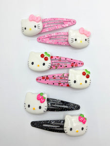Hello Kitty Snap Clips