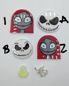 Nightmare Before Christmas resin pieces