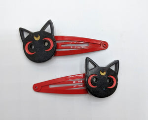 Luna and Artemis Hair Clips