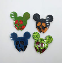 Poison Apple Mickey Resin Pieces
