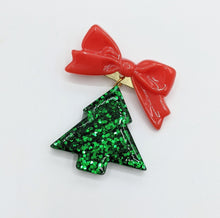Holiday Bow Brooches