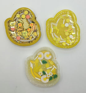 Easter Peep Resin Shakers