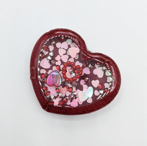 Heart Resin Shakers