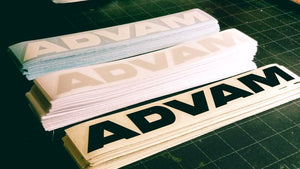 ADVAM VINYL CUT STICKER