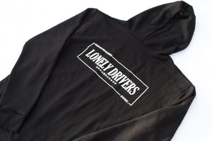 LONELY DRIVERS HOODED SWEATSHIRT