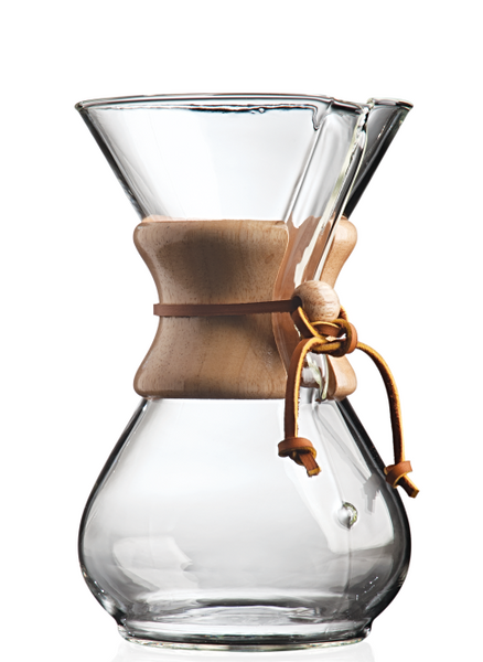 Chemex ~ 6 Cup ~ Wood Neck