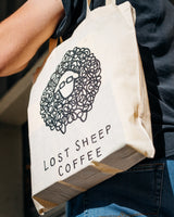 Tote Time ~ Lost Sheep Coffee Tote Bag