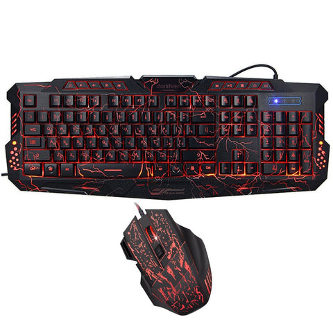 Advanced Lightning Style Gaming Keyboard + Lightning Mouse