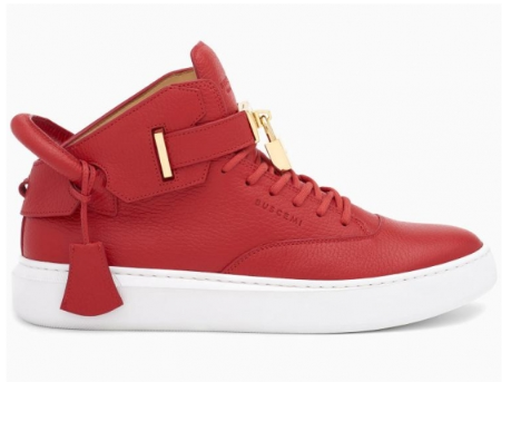 Buscemi Men's 100mm Sneakers, Red