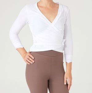 SURF'S UP Swim Wrap Top