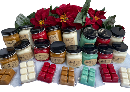 Winter Soy Wax Candles