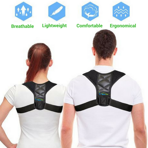 Best Back Pain Posture Corrector for Work