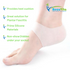 Pair of Heel Sleeves made of Silicone that Protect absorve Shoch/Contact by Recuvita