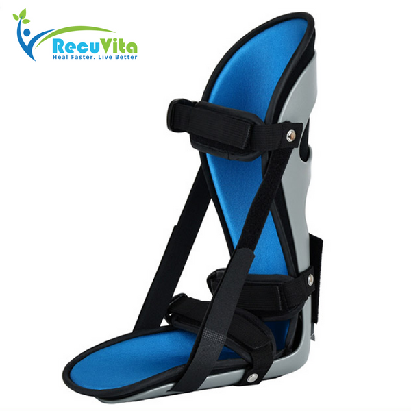 Day & Night Heel/Ankle Splint to treat Plantar Fasciitis by Recuvita