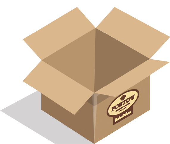 Shipping box (small).