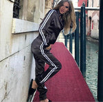 Satin Tracksuit - Women