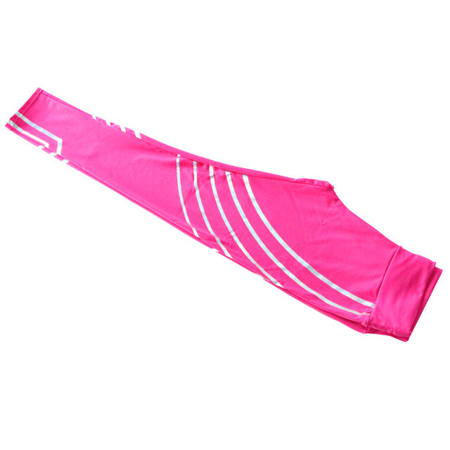Yoga Leggings Sportswear w/ Noctilucent Stripes