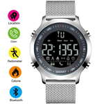 Stainless Steel Digitial Smart Watch