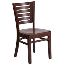 Load image into Gallery viewer, Darby Series Slat Back Walnut Wood Restaurant Chair