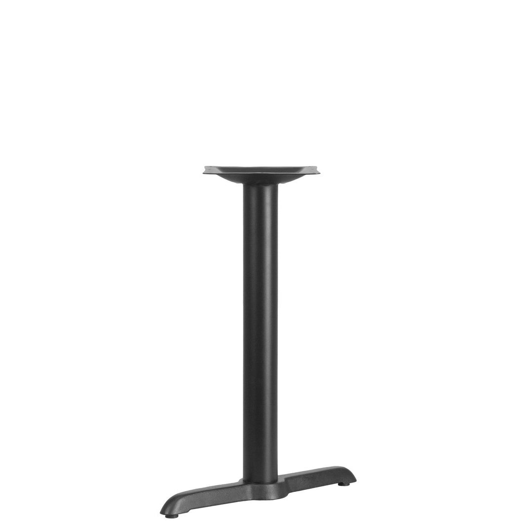 5'' x 22'' Restaurant Table T-Base with 3'' Dia. Table Height Column