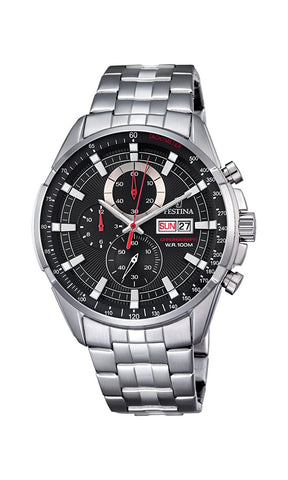 Watch Festina Men's F6844/4 Chronograph - Stainless Steel