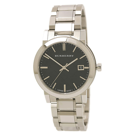 Burberry Men's BU9001 Large Check Stainless Steel Bracelet Watch